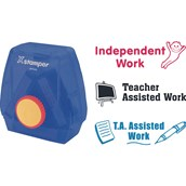Xstamper 3 in 1 - T.A Assisted, Independent, and Teacher Assisted