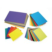High Quality Recycled Card A4 380 micron Assorted - Pack of 200
