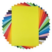 Classmates Poster Paper Sheets 510mm x 760mm - Yellow - Pack of 25