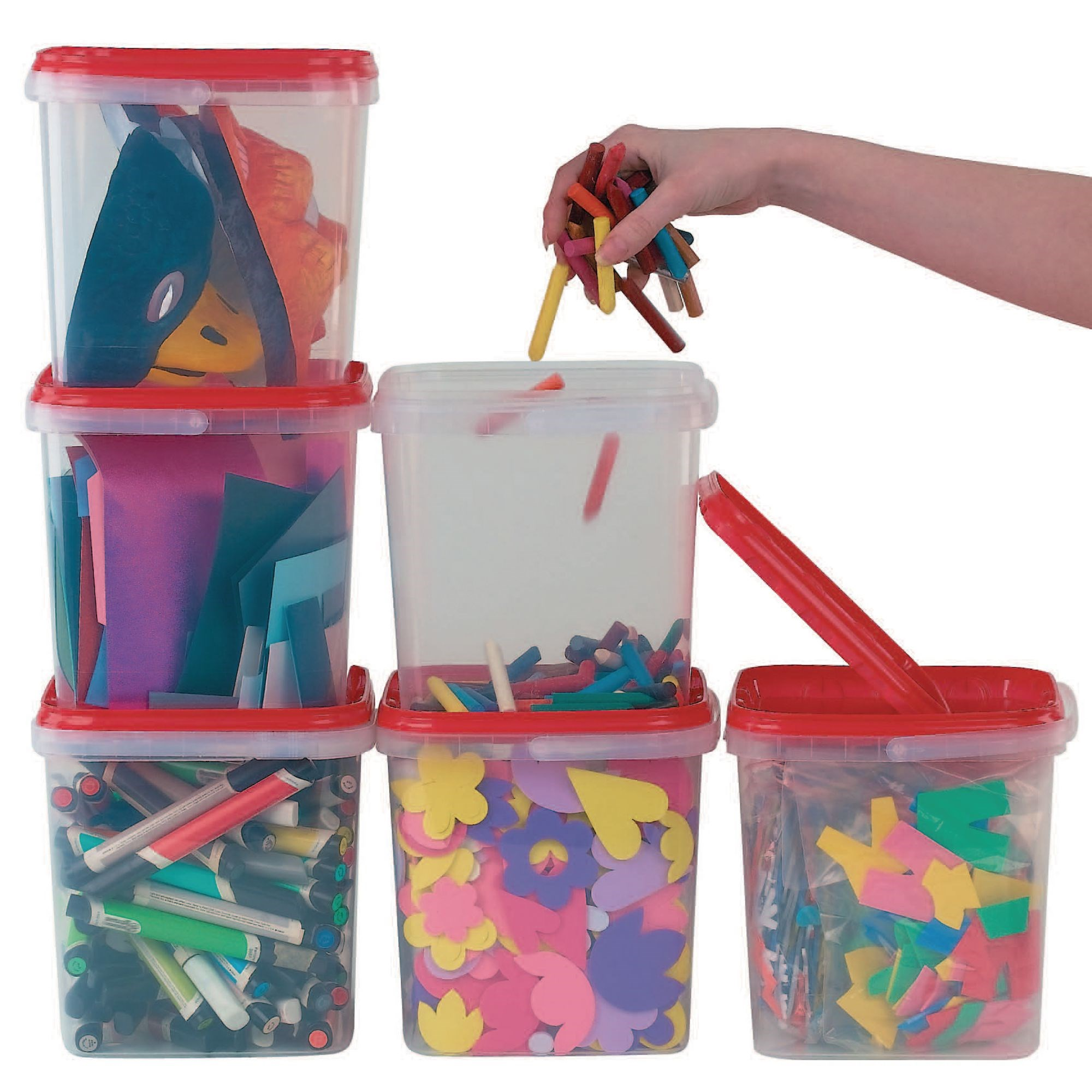 Square Storage Boxes Pk10