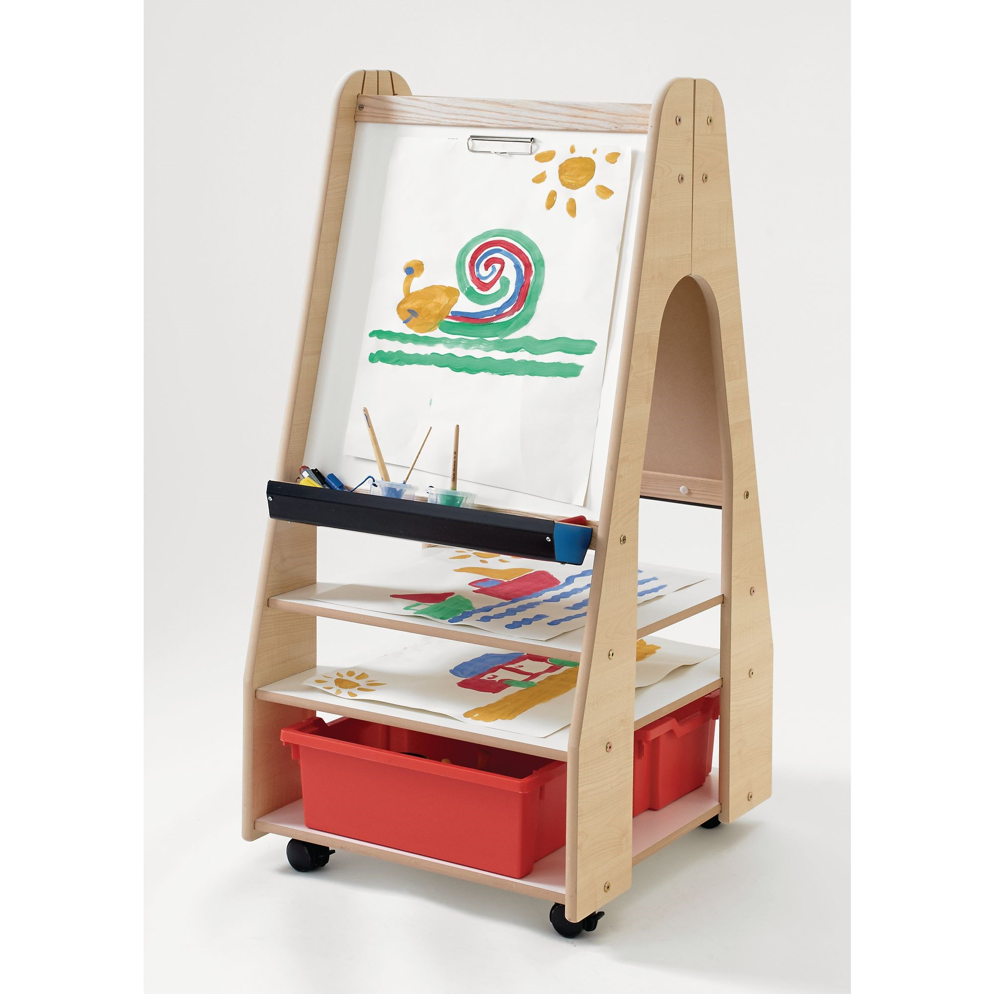 Millhouse - Mobile Storage Easel - Two Sided