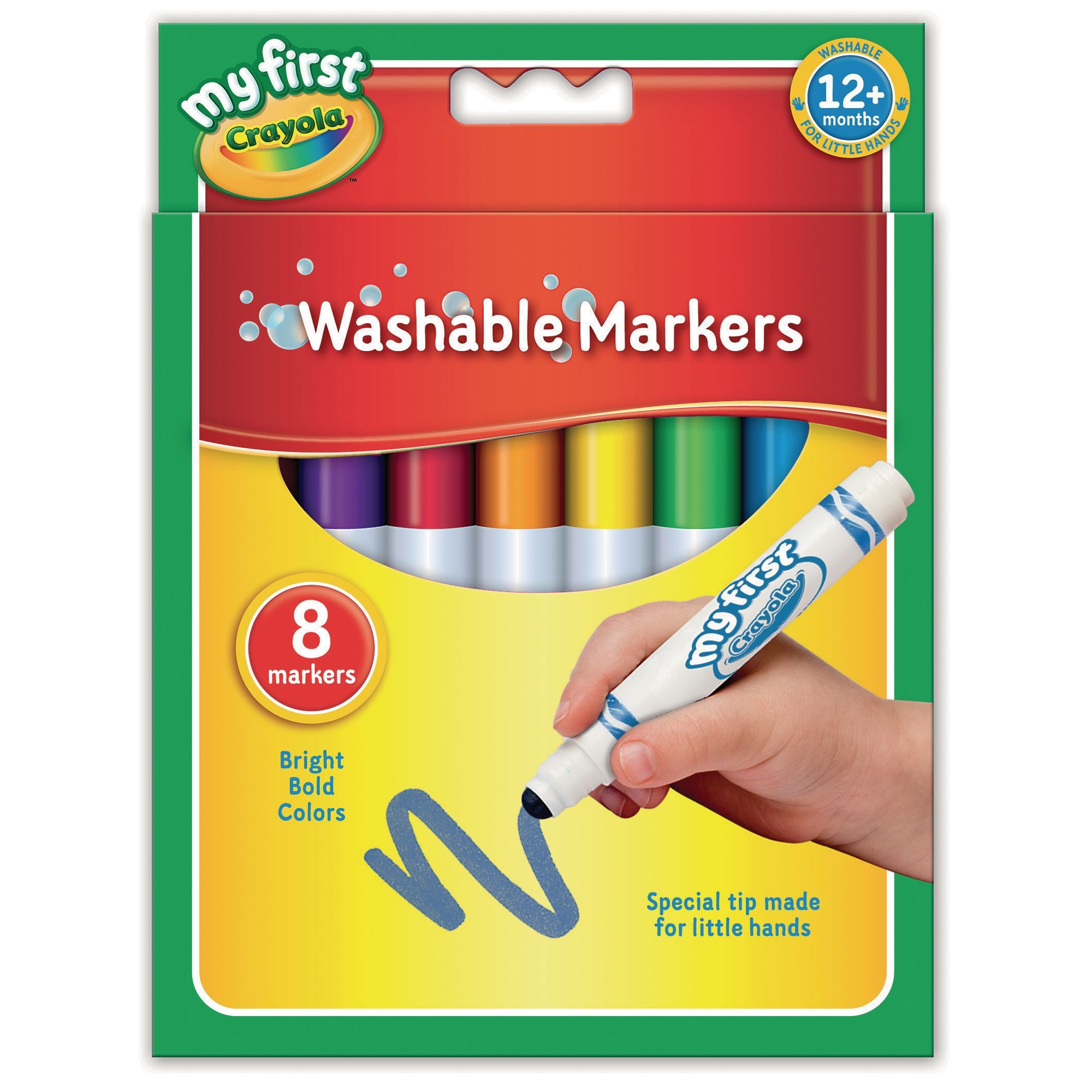 Crayola My First Markers Assorted (Pack of 8)