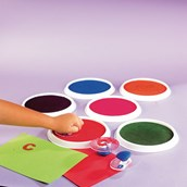 Giant Ink Pads - Assorted - Pack of 6