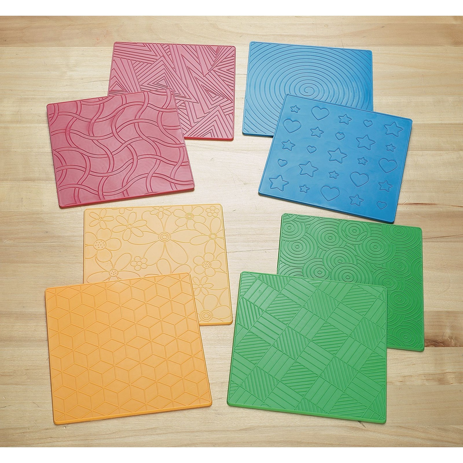 Rubbing and Embossing Plates