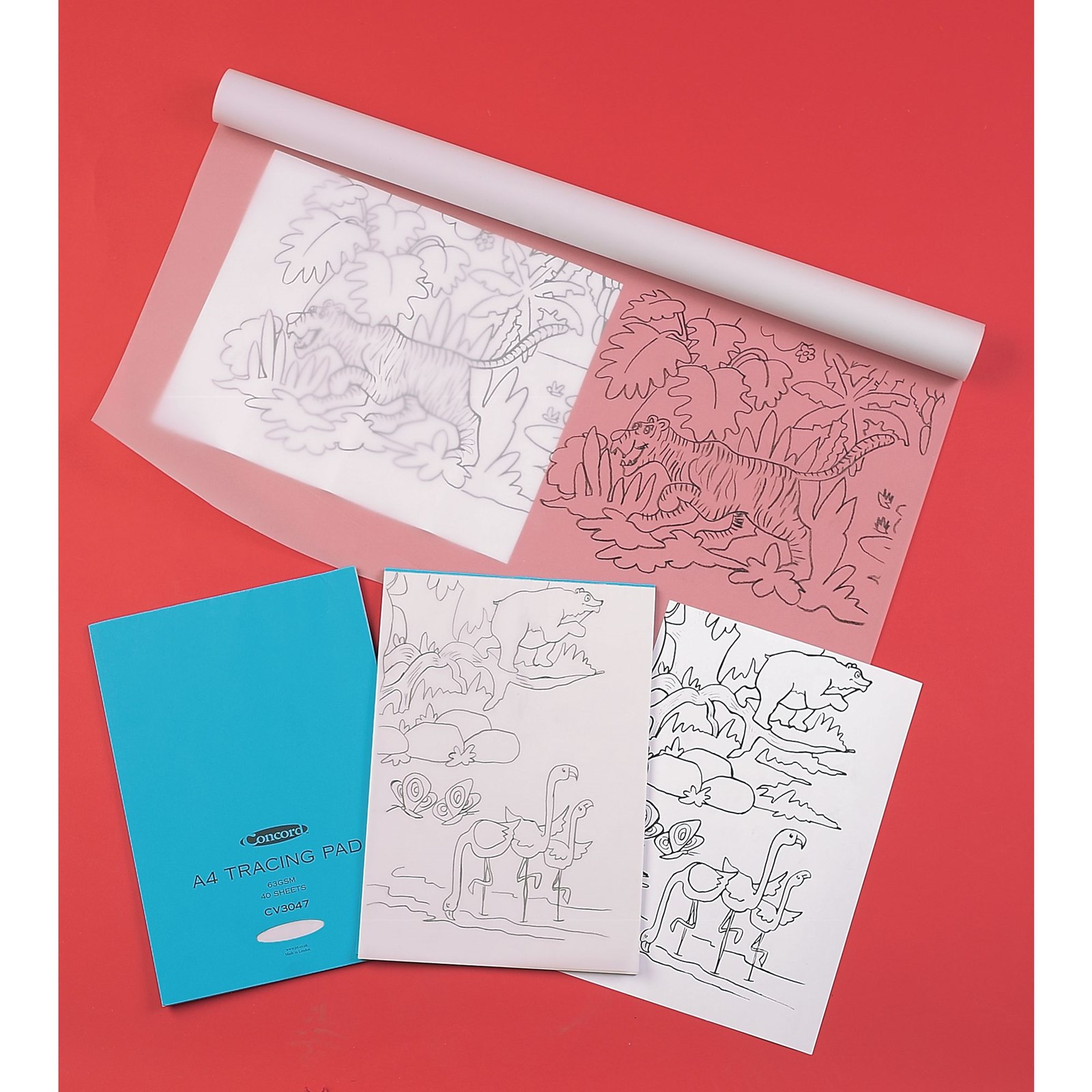 Tracing Paper Pads A3 Gls Educational Supplies