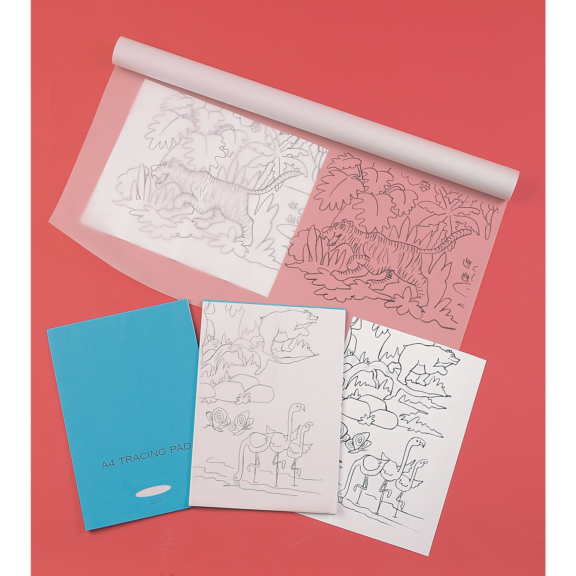 Tracing Paper Sheets A3 Pack Of 100 Gls Educational