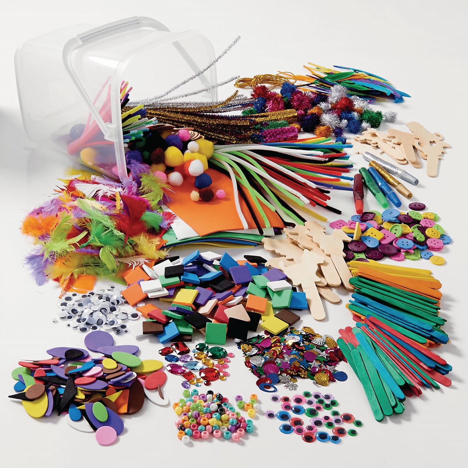 Collage Pack with 24 FREE Classmates Gluie Sticks