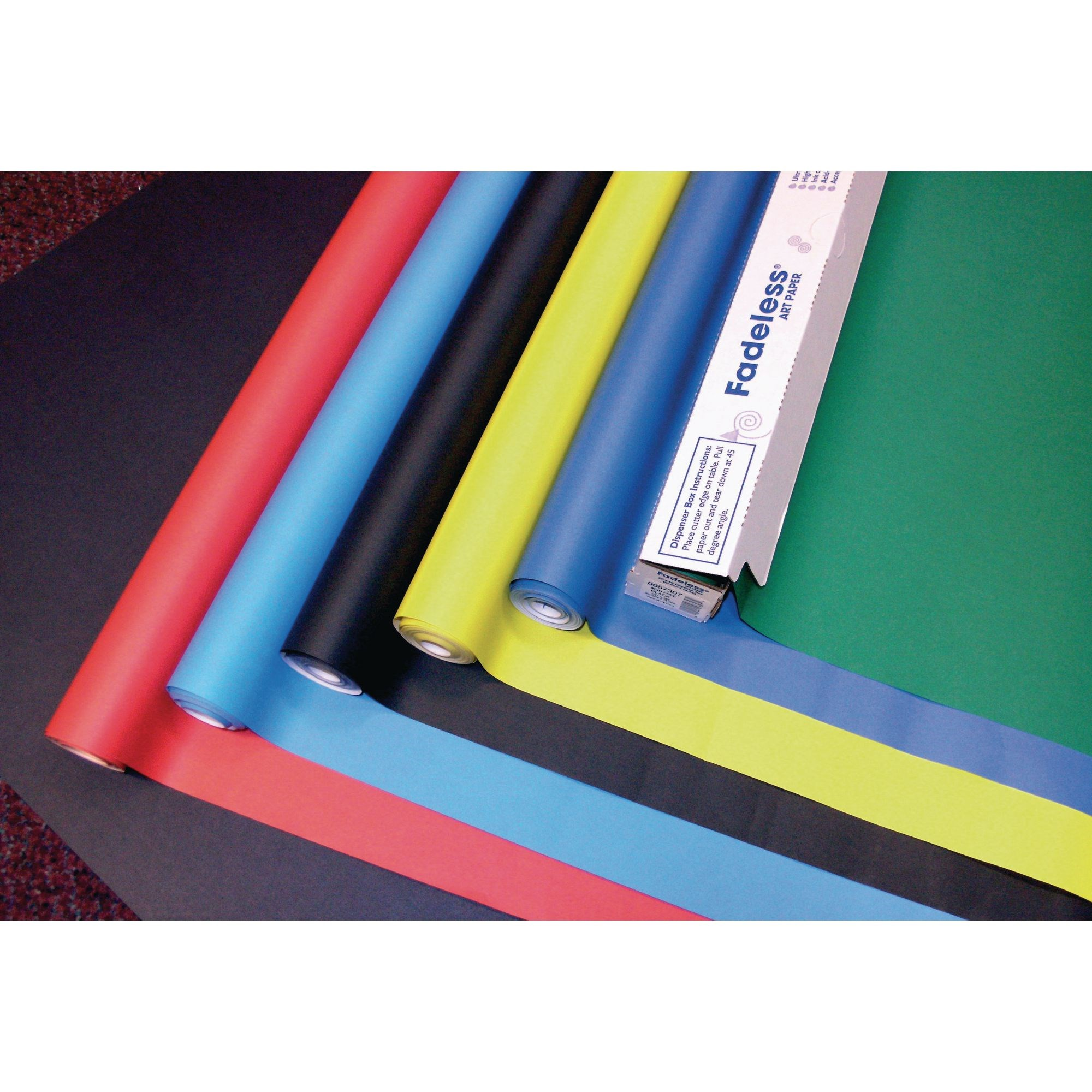 Fadeless Paper Standard Width Assorted Pk6