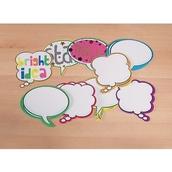 Speech Bubbles 6 Colours - Pack of 36