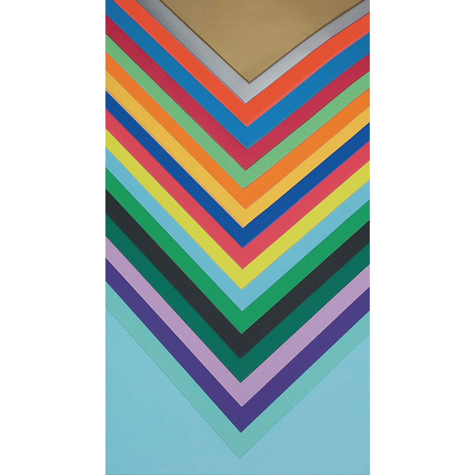 Poster Paper Sheets 510 x 760mm - Sliver - Pack of 25