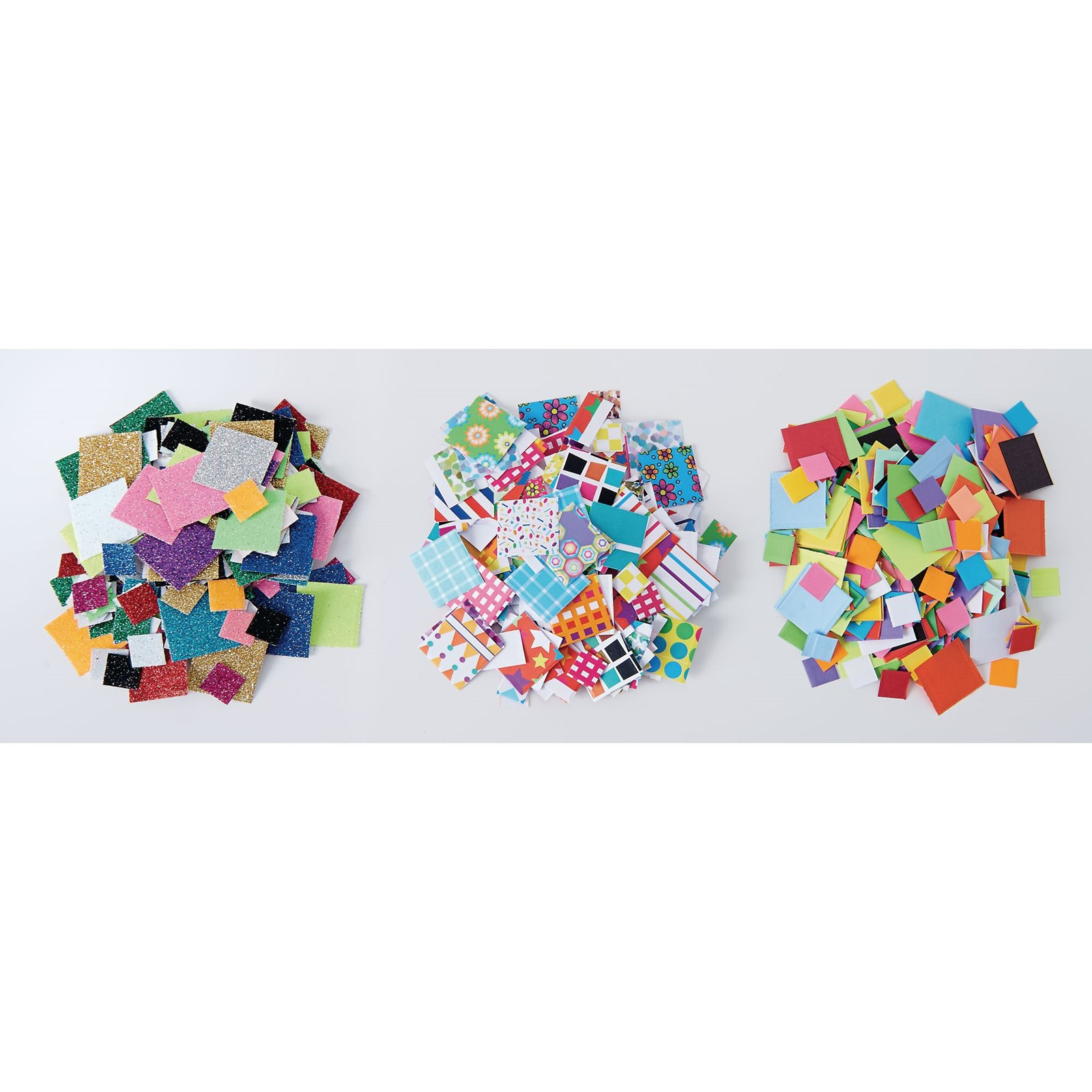 Mosaic Squares Glitter Pack of 3000
