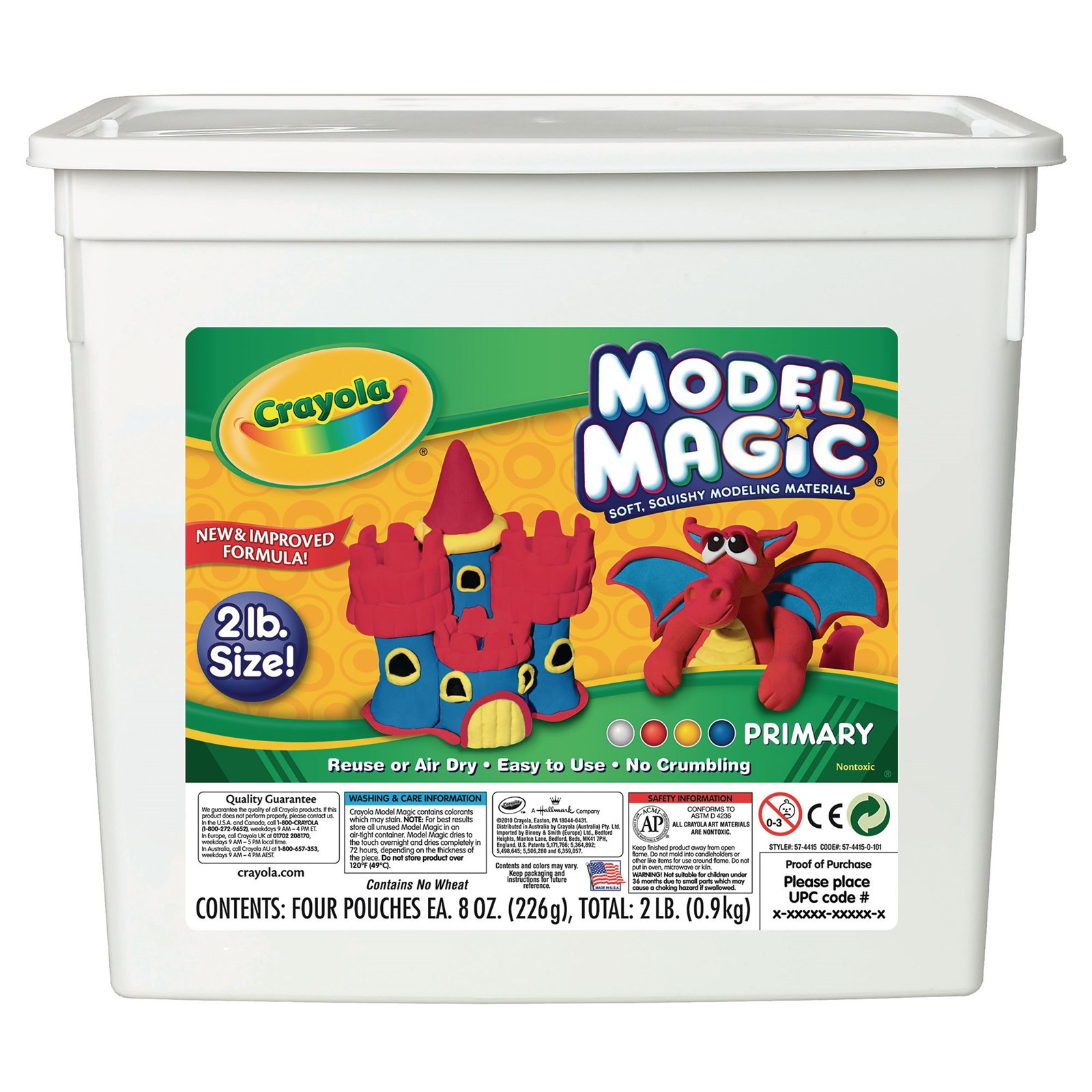 Crayola Colours Model Magic Pack of 4