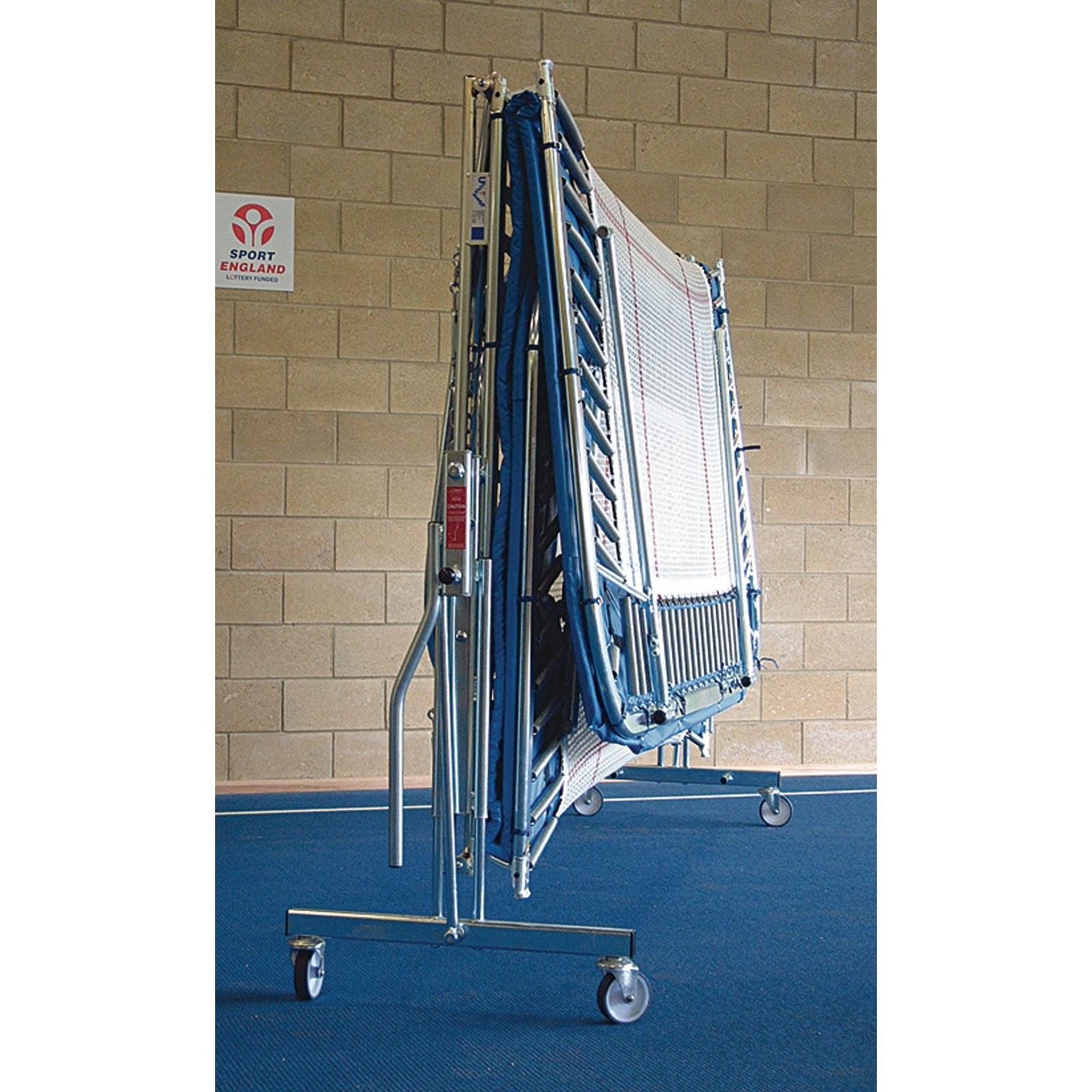 Trampoline Lift/Low Roller Stands - School