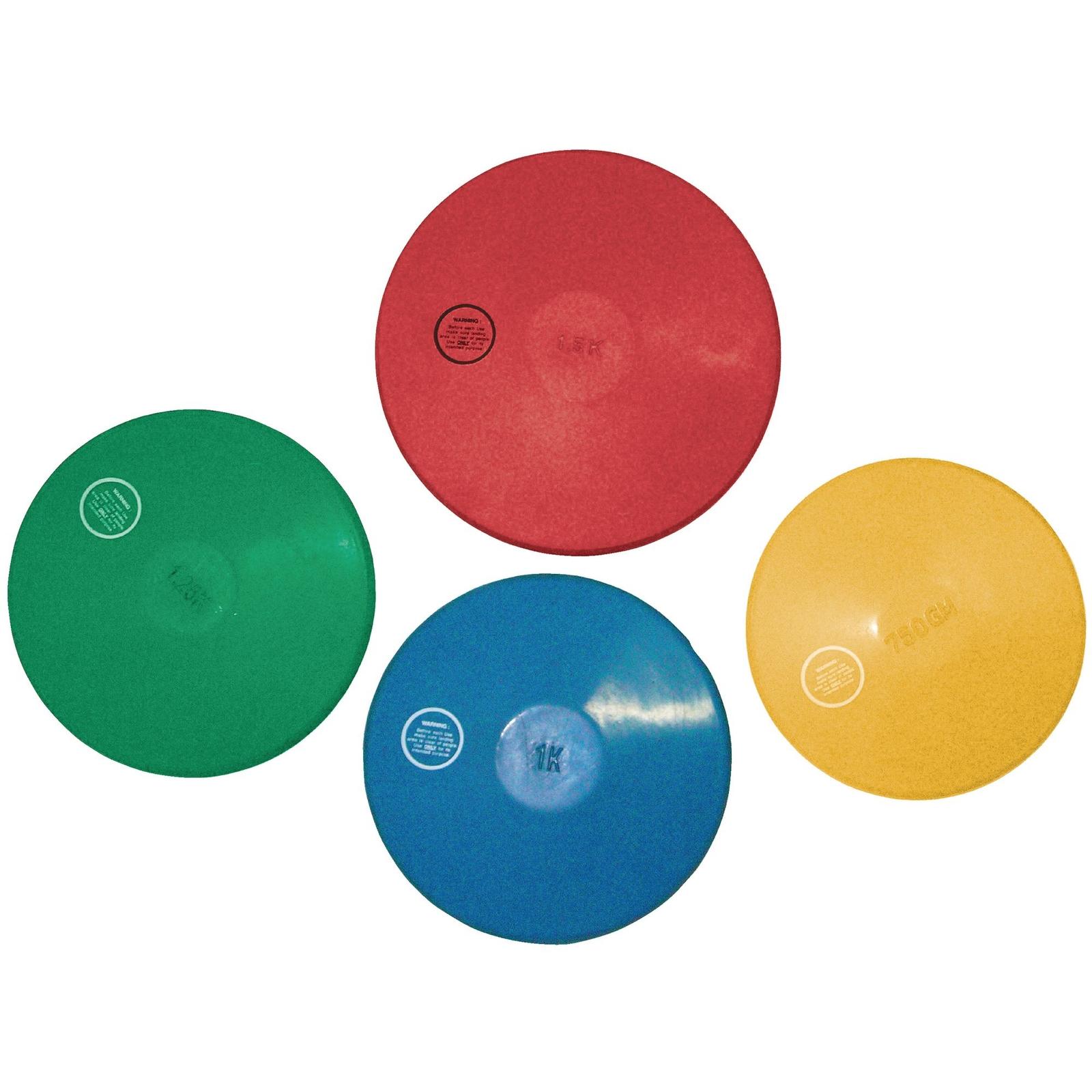 Vinex Rubber Indoor Discus - 1.5kg - Red