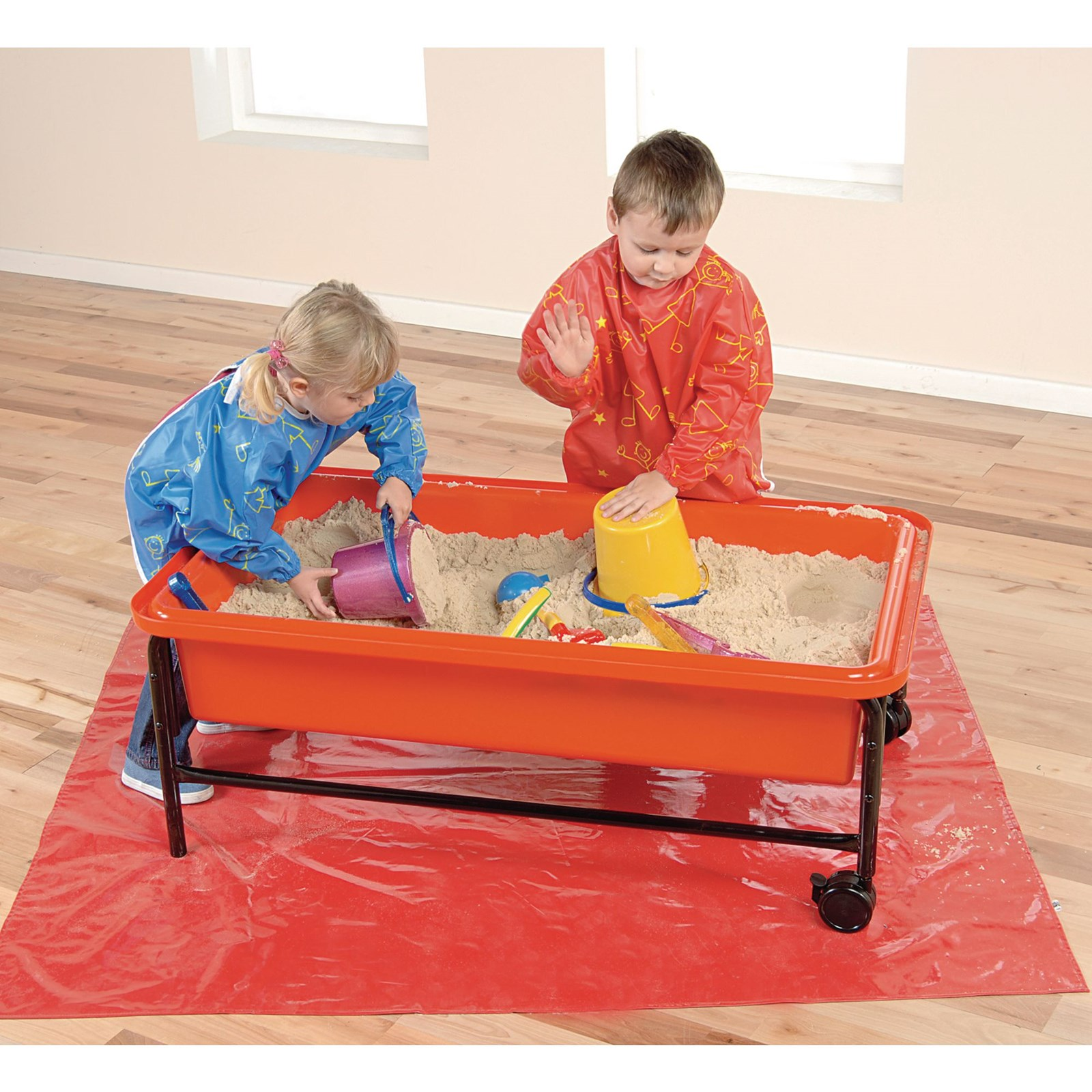 Sand and Water Play Tray - Red