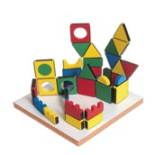 3D Magnets Set - Pack of 108
