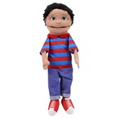Giant Multicultural Hand Puppets-Brown Boy