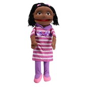 Giant Multicultral Hand Puppets - Black Girl