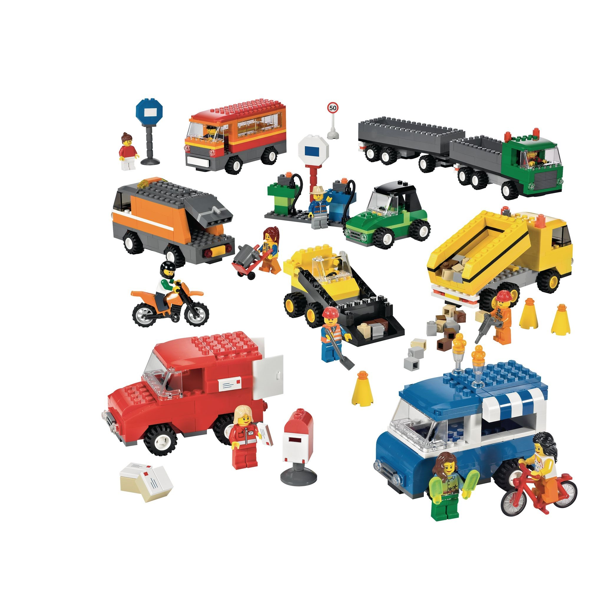 Lego Vehicles Set