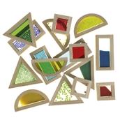 Sensory Glitter Blocks - Pack of 16