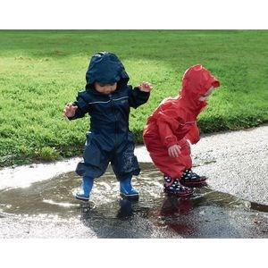 Puddle Puddlesuit - 24-36 Months - Red