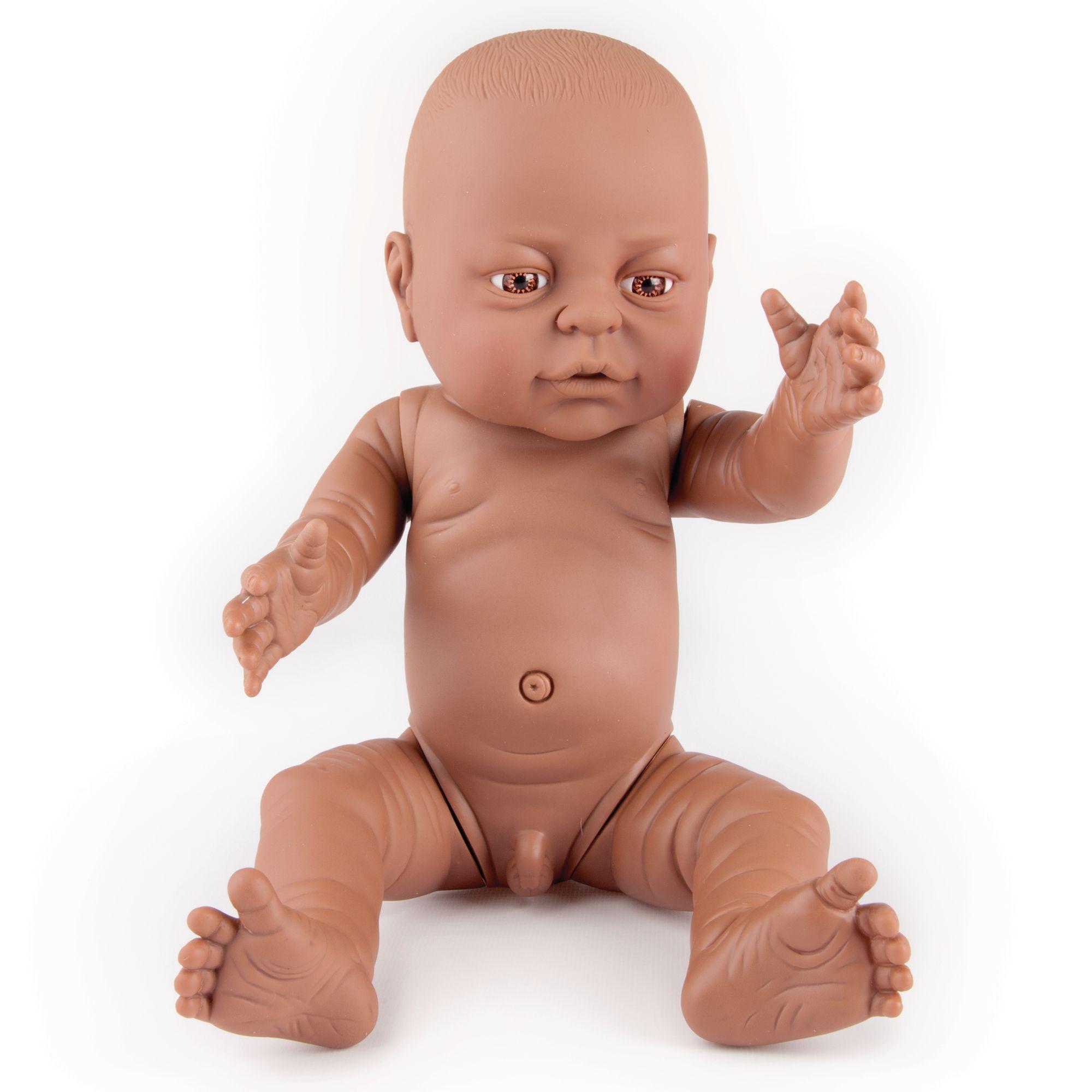 Newborn baby doll black boy gls educational supplies