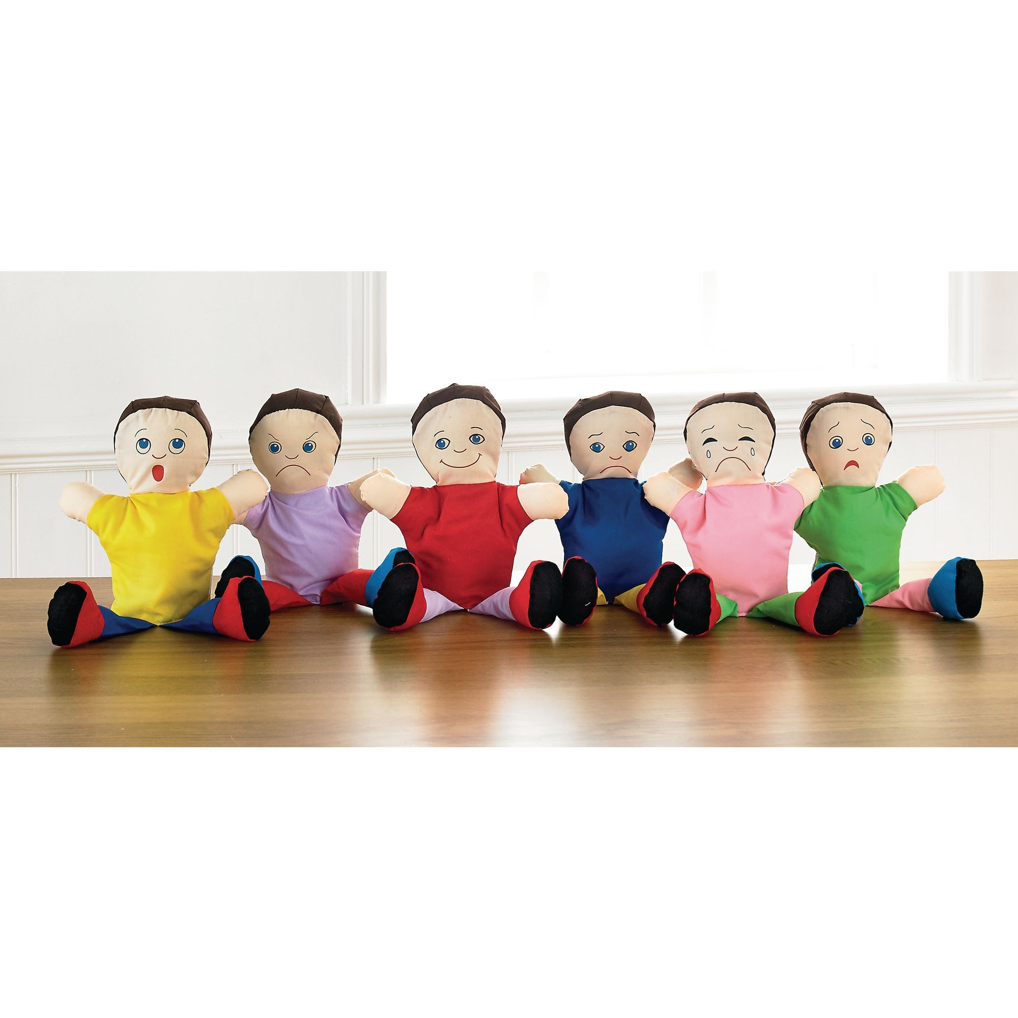 Emotions Hand Puppets Pk6
