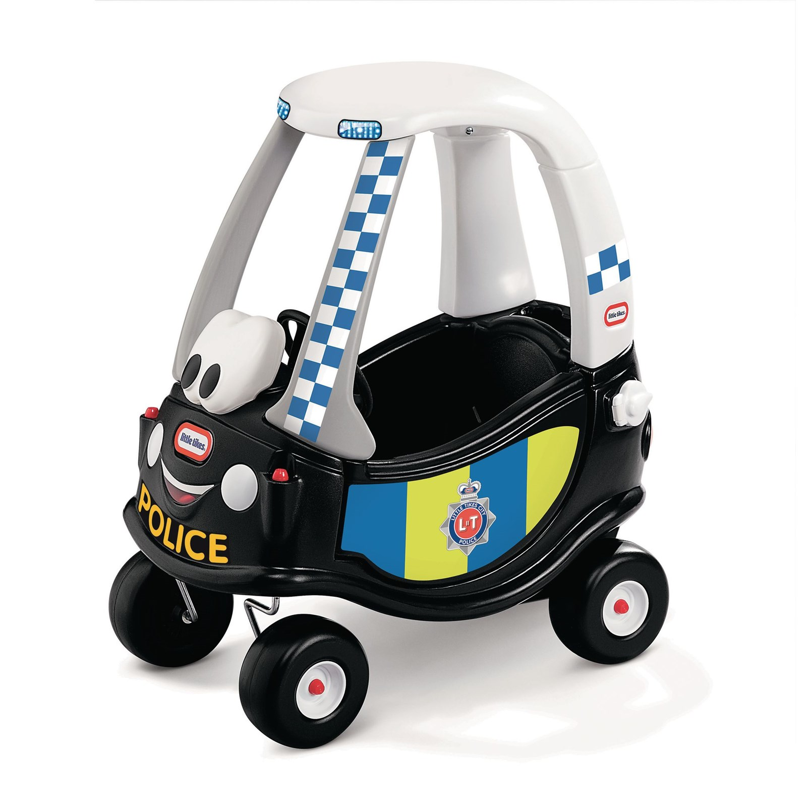 Little tikes police coupe hope education for Little tikes motorized vehicles