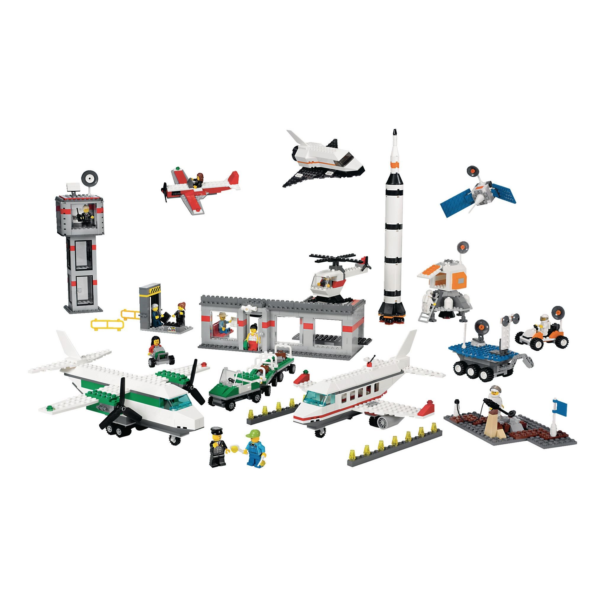 Lego Space and Airport Set