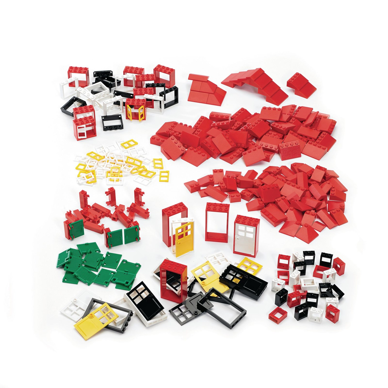 Doors, Windows and Roof Tiles Set by LEGO® Education