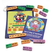 Sue Palmer's Synthetic Phonix Set 2 Bag of Spellings Multi Pack