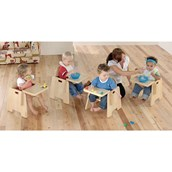 Galt Sturdy Feeding Chairs - Seat height: 200mm