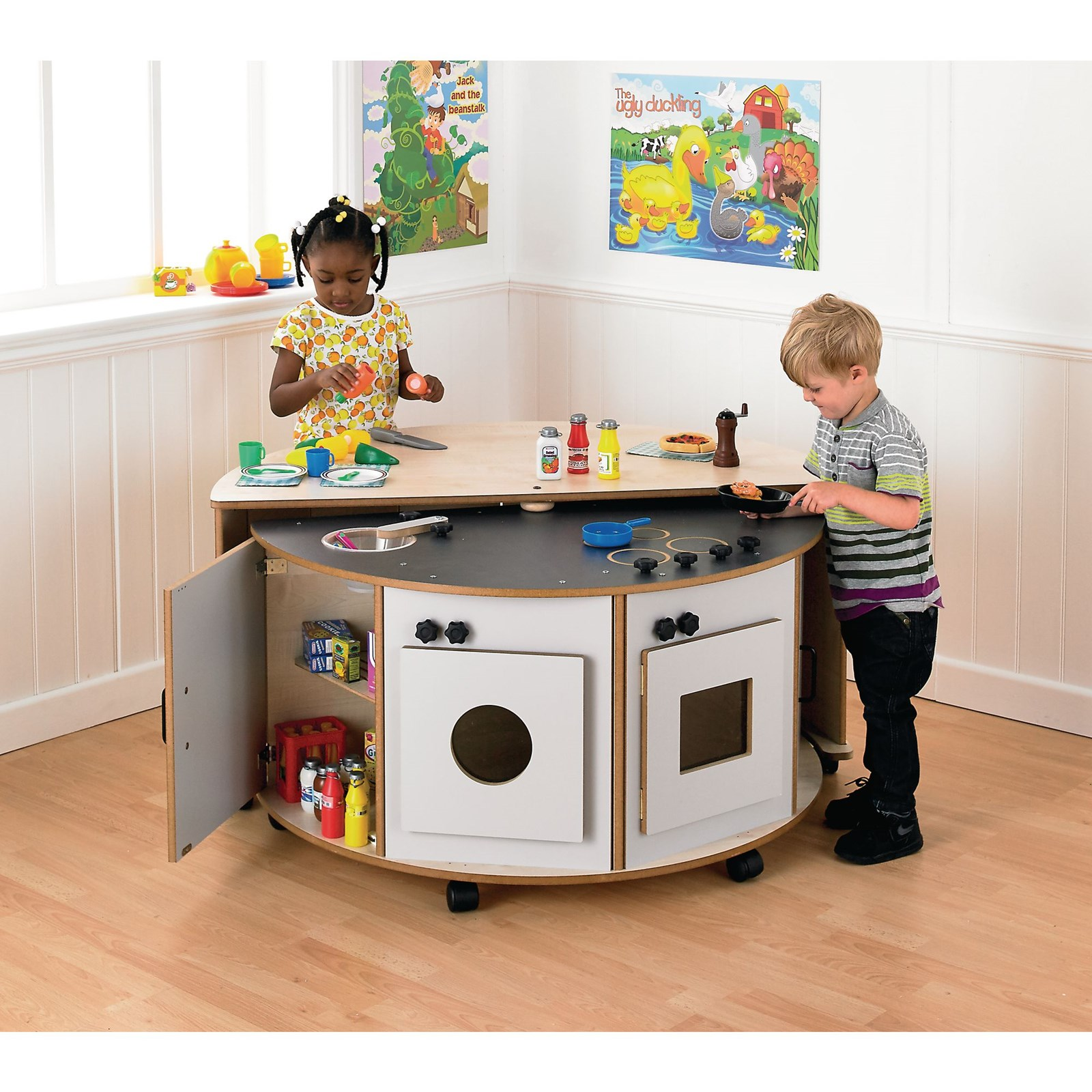 Pack Away Space Saver Kitchen Gls Educational Supplies
