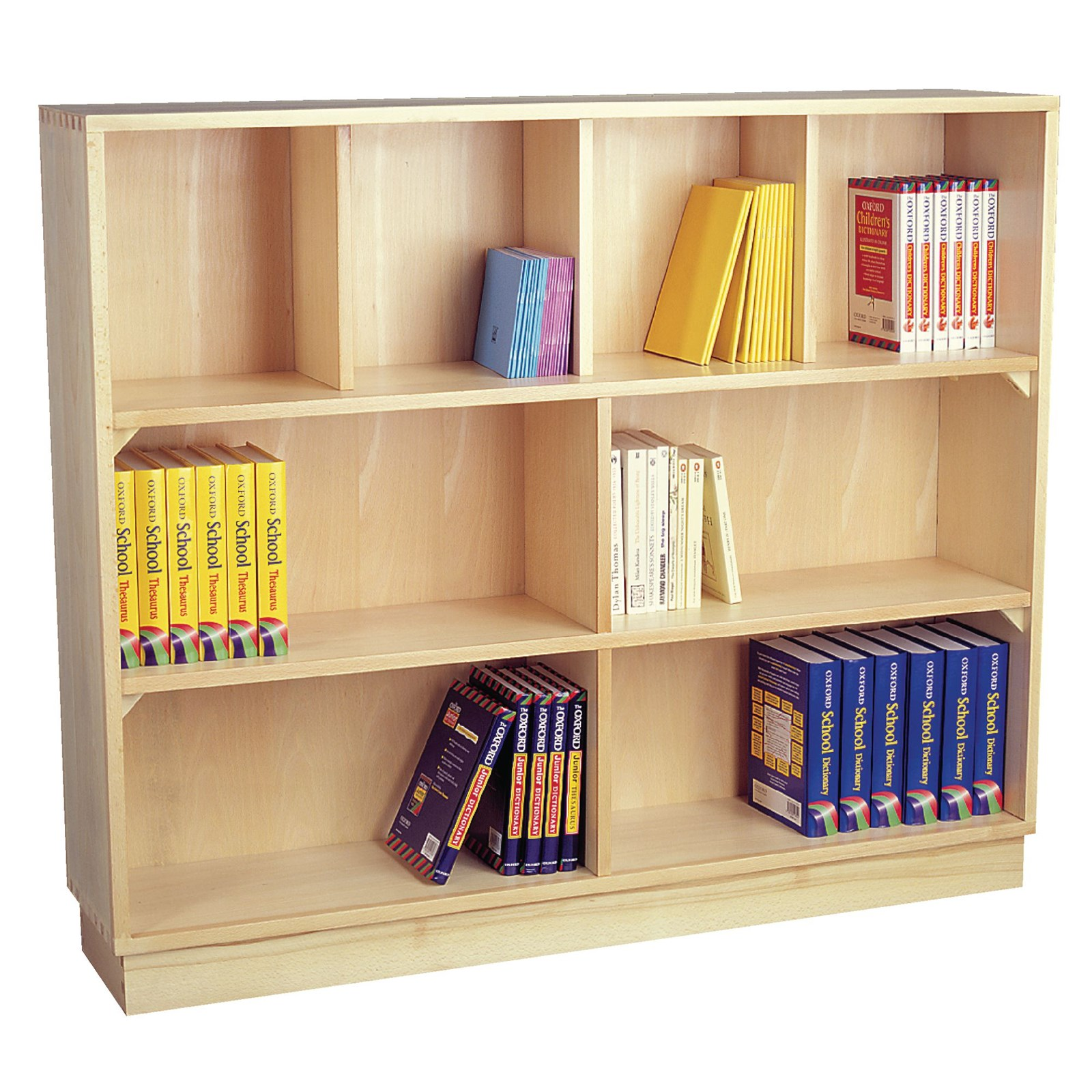 alder wide bookcases in bookcase shelf x shaker choices abshkrbkcstop solid archbold wood high furniture finish