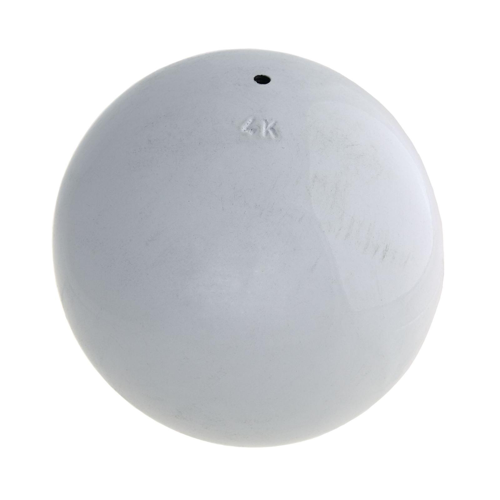 Vinex Cast Iron Shot Put - 4kg - White