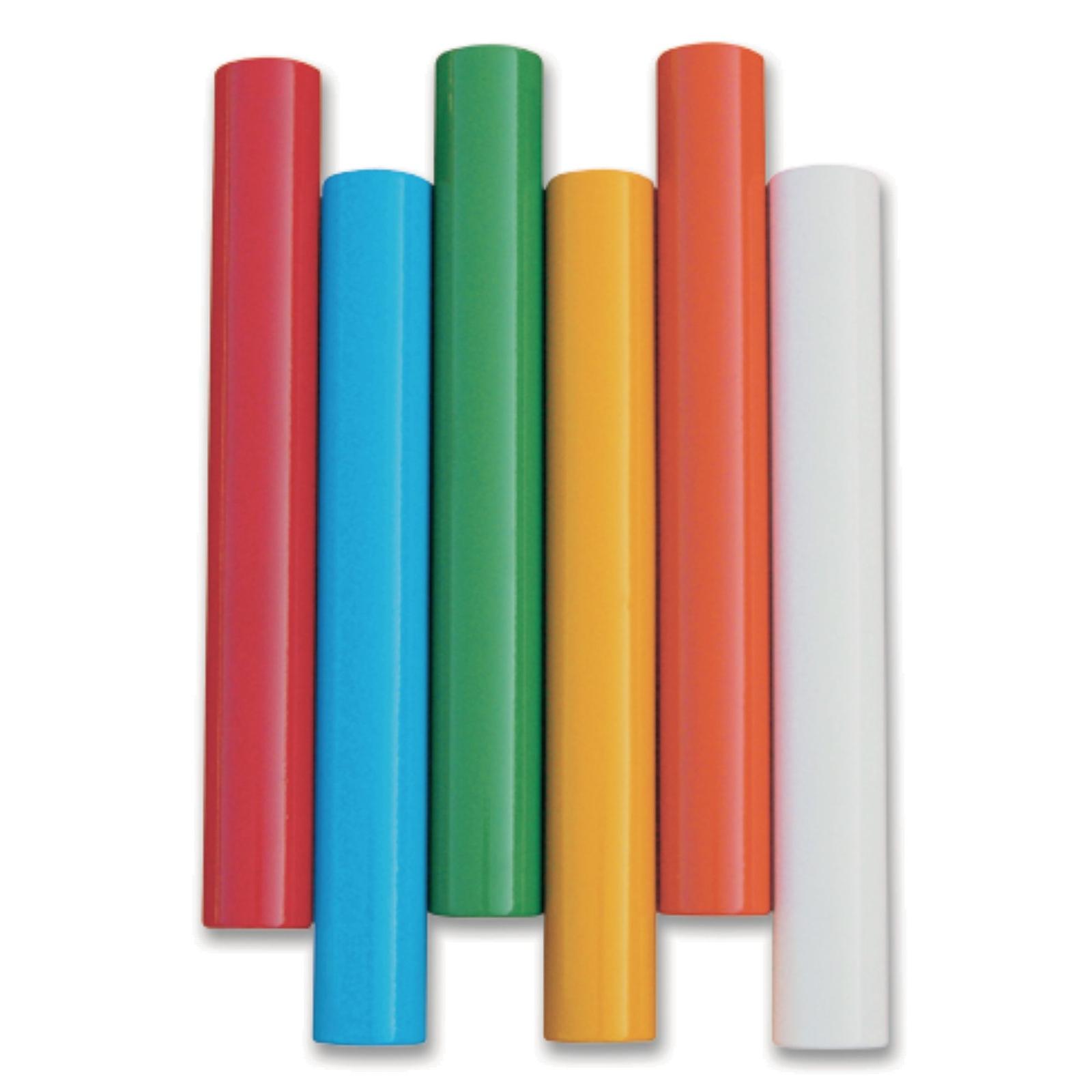 Vinex Junior Aluminium Relay Batons, Pack of 6 - 32mm