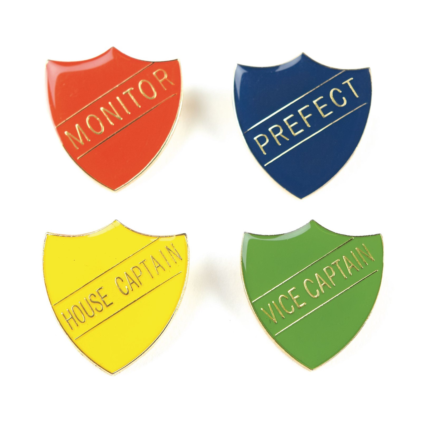 Monitor Shield Badge - Blue