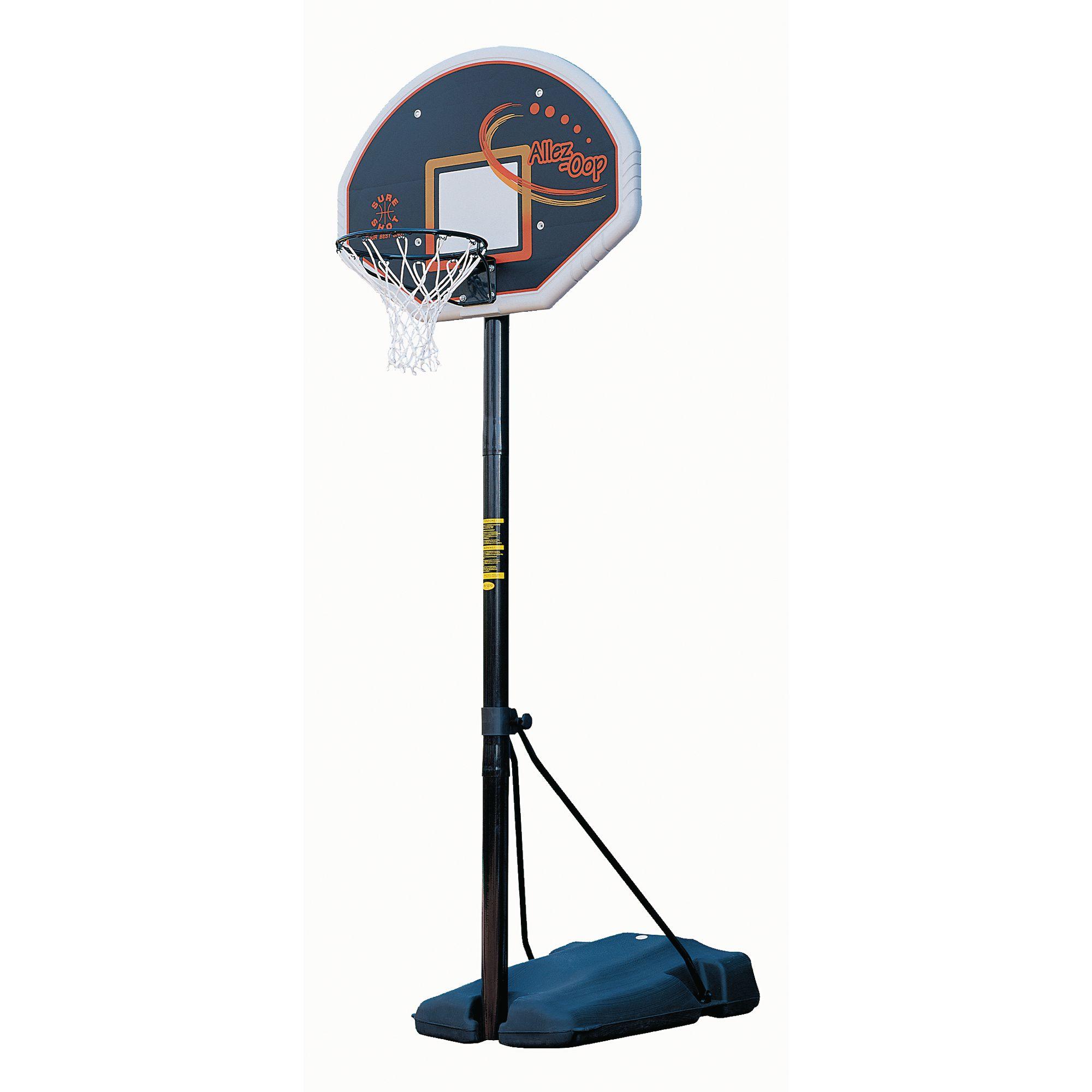 Portable Sports Fan : Heavy duty portable basketball unit with fan board