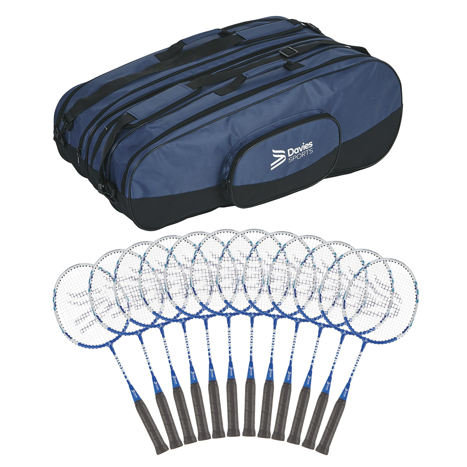 Davies Sports Shorty Racquet - Pack of 12