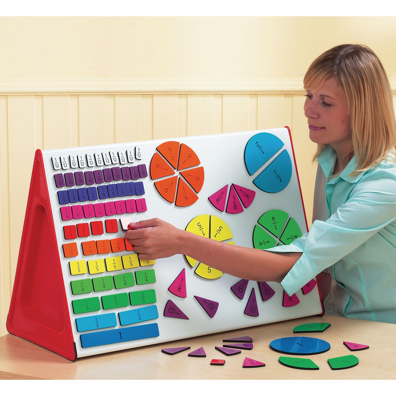 Fractions Magnets