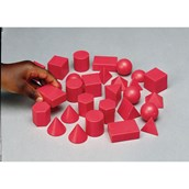 Plastic 3D Shapes - Set 30