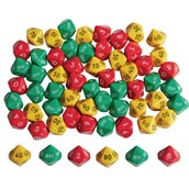 Hundreds Tens & Units Dice - Pack 60