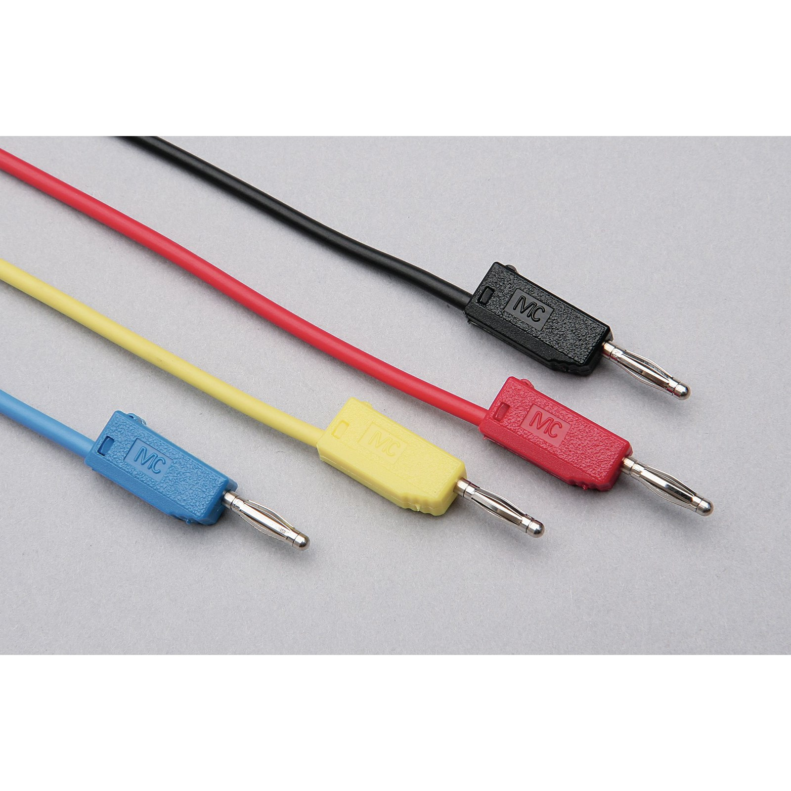 2mm stackable plug leads black 300mm philip harris for Mineral wool pipe insulation weight per foot