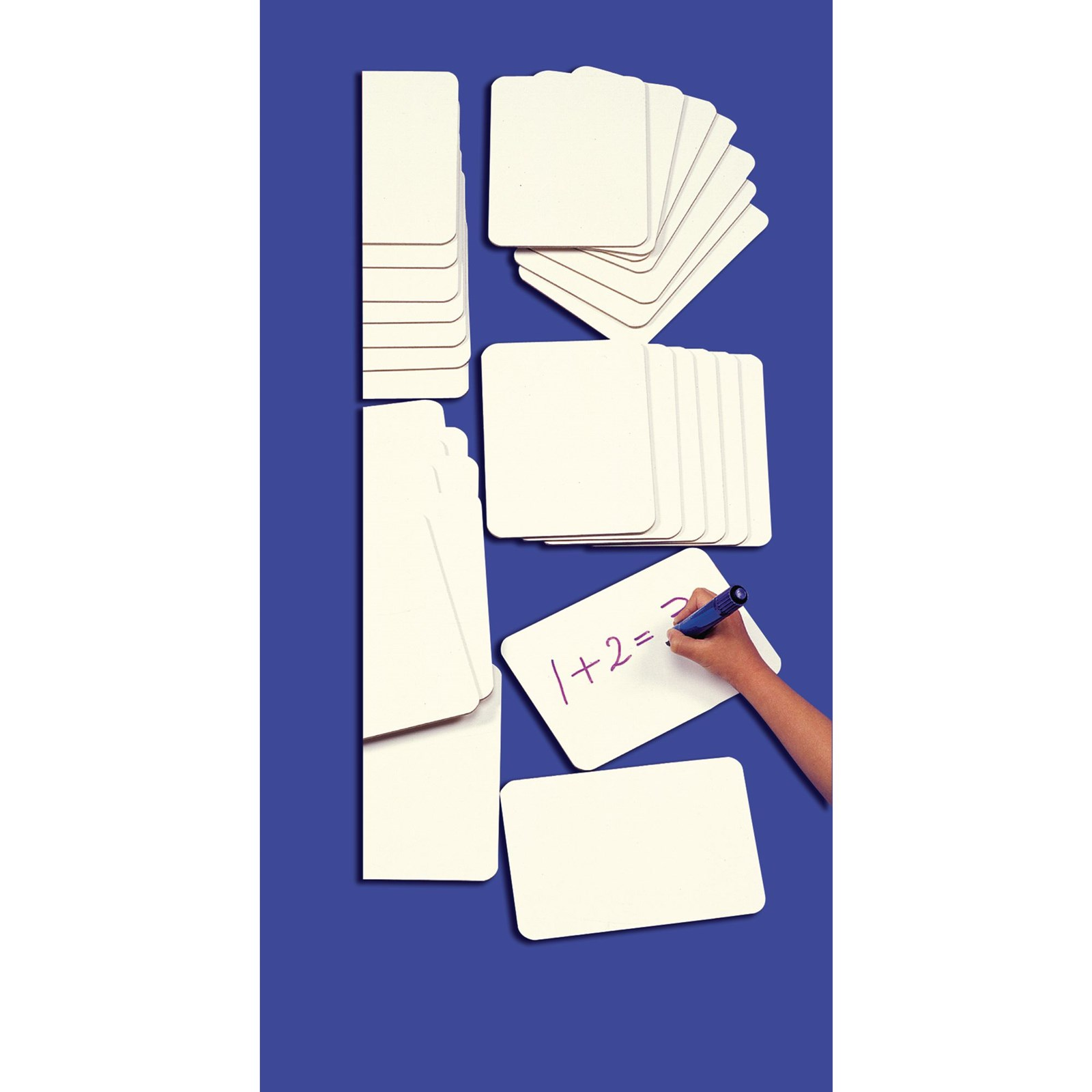 Class Pack of A5 Dry-wipe Lapboards