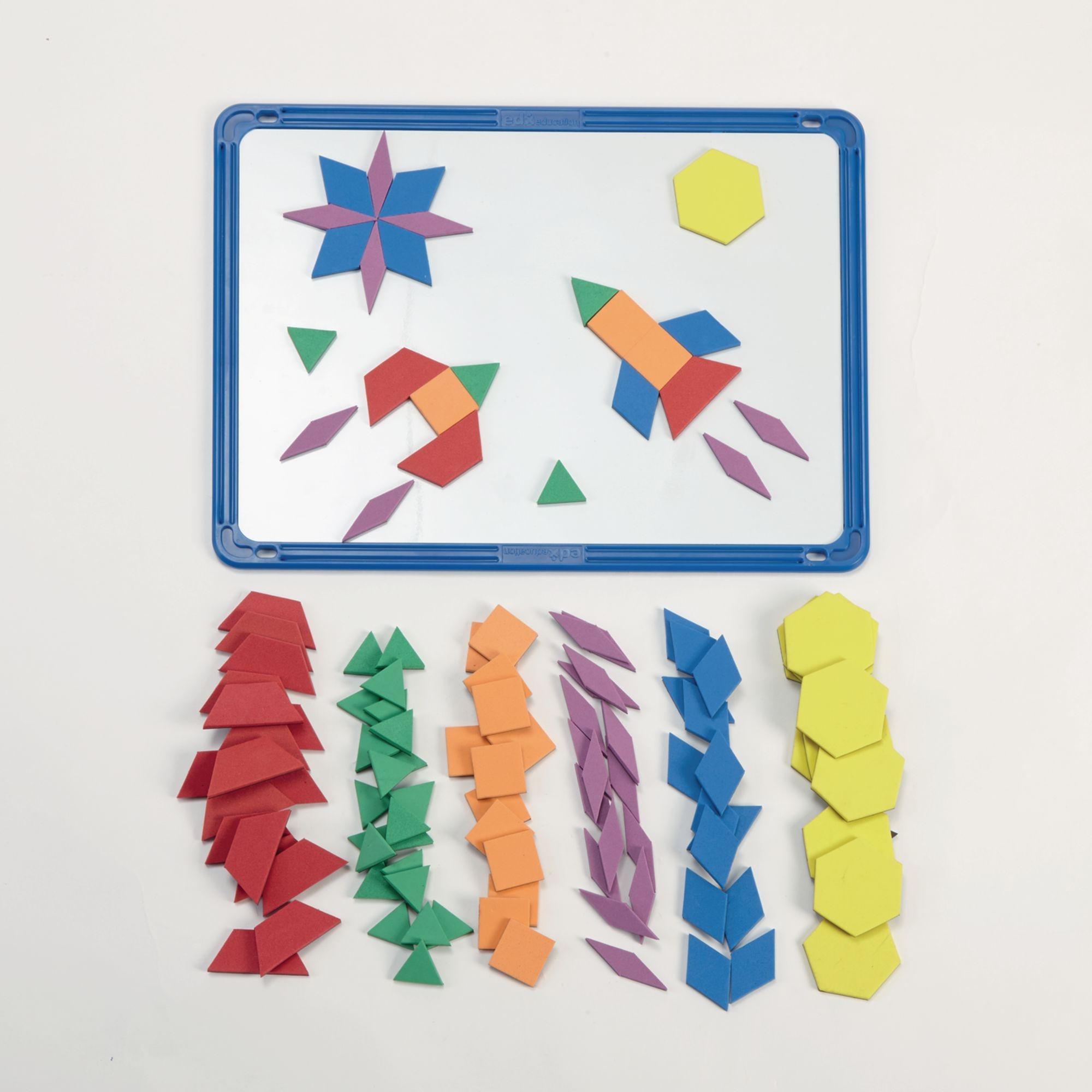 Magnetic Foam Pattern Blocks