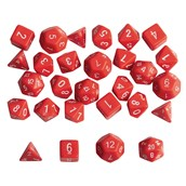 Polyhedron Number Dice - Pack 35
