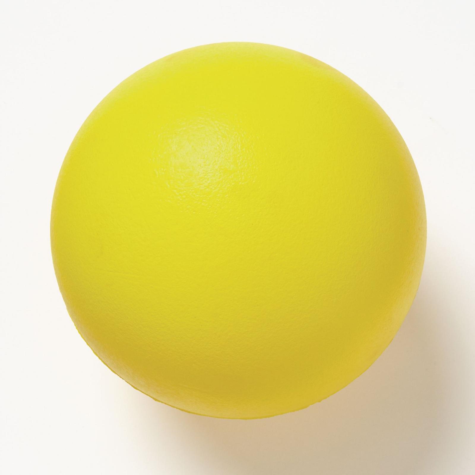 Coated Foam Ball 160mm - Yellow