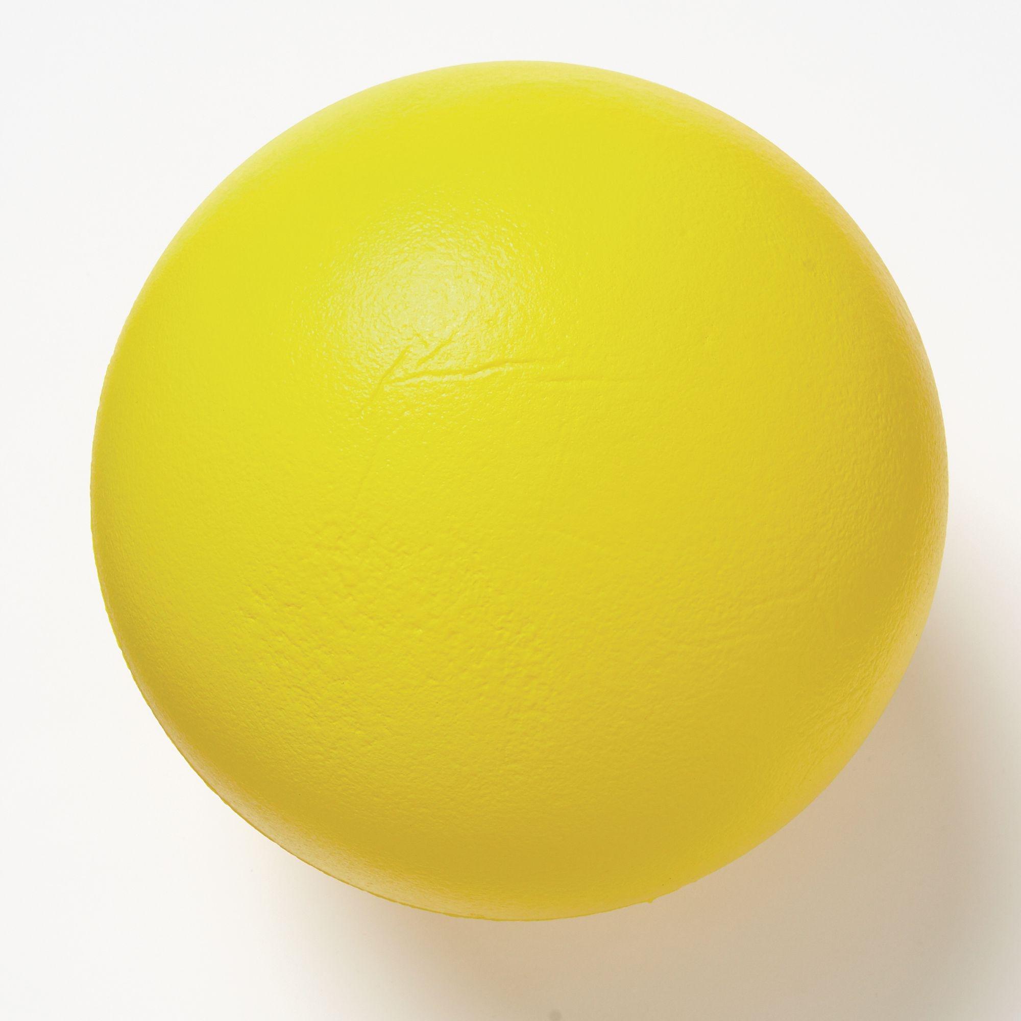 Coated Foam Ball 200mm Yellow