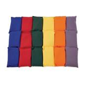 Beanbags - Assorted - Pack of 36
