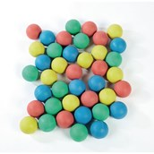 Rubber Balls - Pack of 40
